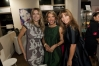 Grand opening party hosts Rita Rusic & Daisy Olivera with Mad in Italy owner Nadine Curmi Borgomanero