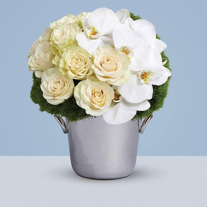 LEAD PHOTO Kalla flowers in Christofle silver