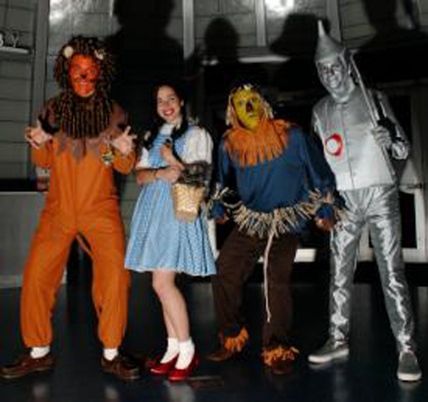 The wizard of oz characters