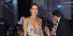Christy Martin in Roberto Cavalli at Diamond Gala