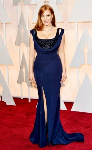 14 WORST Jessica Chastain in Givenchy