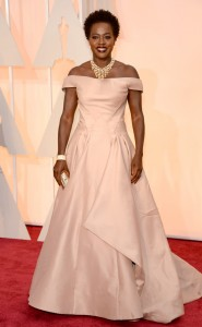 18 ALMOST Viola Davis in Zac Posen