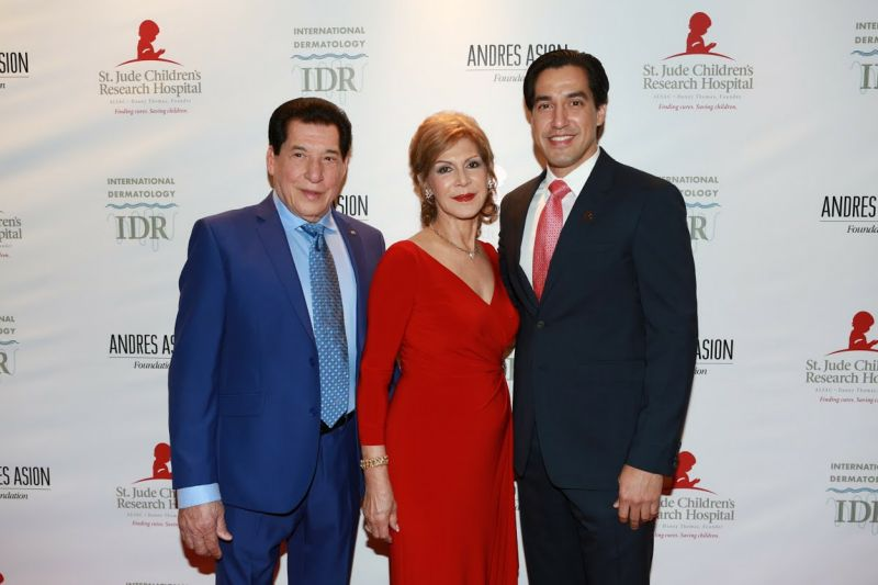 Julian and Maria Asion and their son, honoree Andres Asion