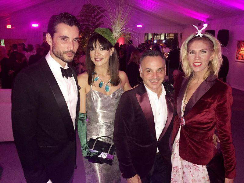 Khotan, Candela Ferro, Mario Vergel, Nina Sureal PHOTO: TheDaisyColumn