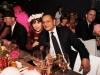 Princess Firyal of Jordan and designer Naeem Khan WRE
