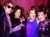 Artist Carlos Betancourt, Silvia Karman Cubina, Daisy Olivera, Michele Areces PHOTO: TheDaisyColumn