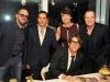 Gallerist Walter Otero, Alberto Latorre, Belkys Nerey, Demetri Mouratis and Carlos Betancourt