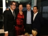 Carlos with architects Jackie and Carlos Touzet, Alberto Latorre
