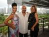 Estefania Morena, John Bonilla, Seaspice owner Anna Denise Miranda