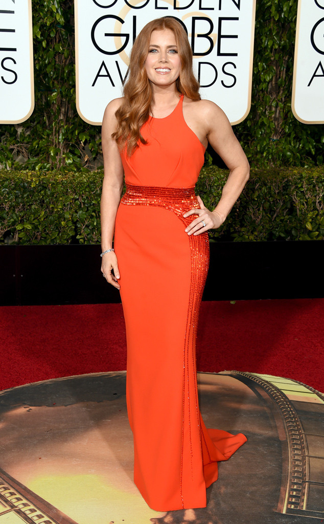 BEST DRESSED Amy Adams in Versace