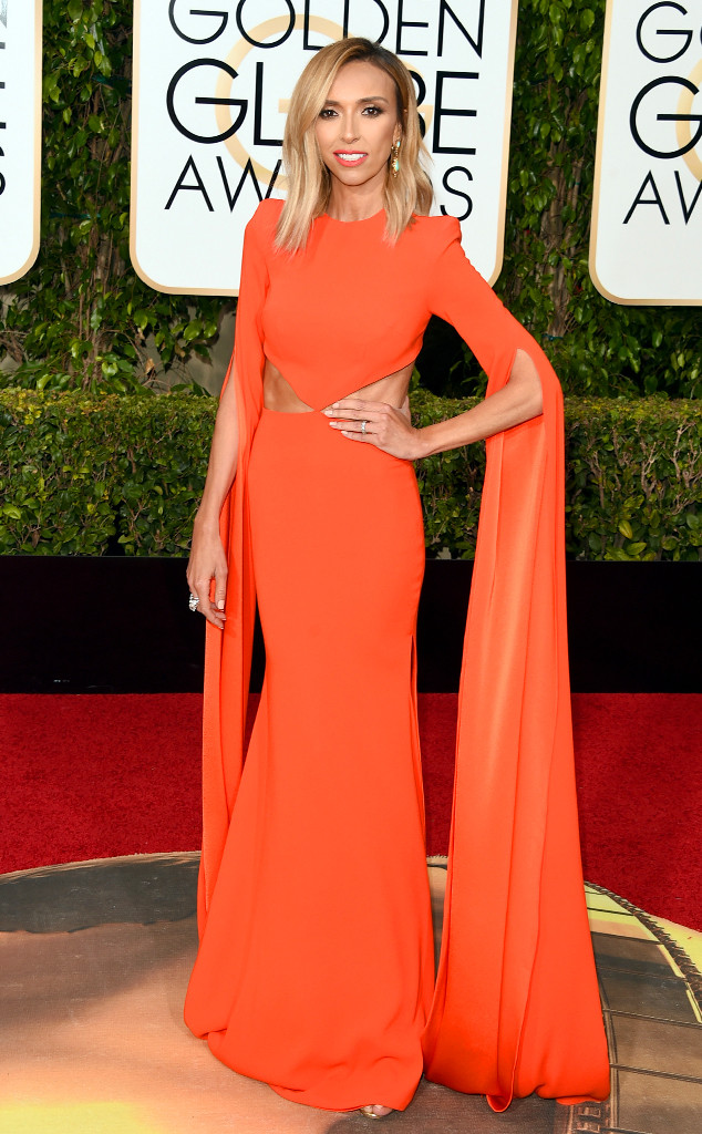 BEST DRESSED Giuliana Rancic in Alex Perry