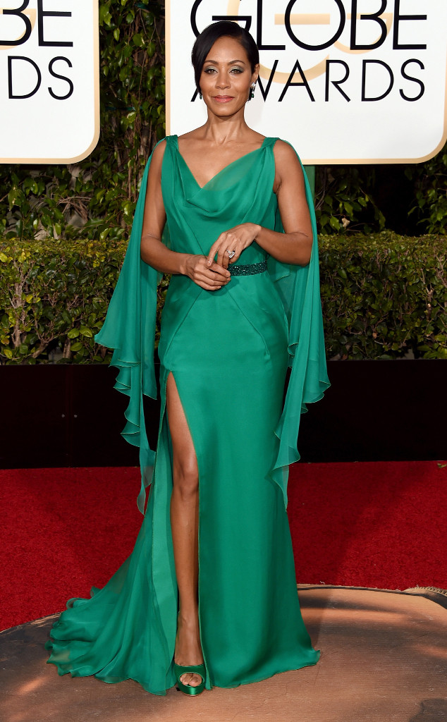 WORST DRESSED Jada Pinkett-Smith in Versace