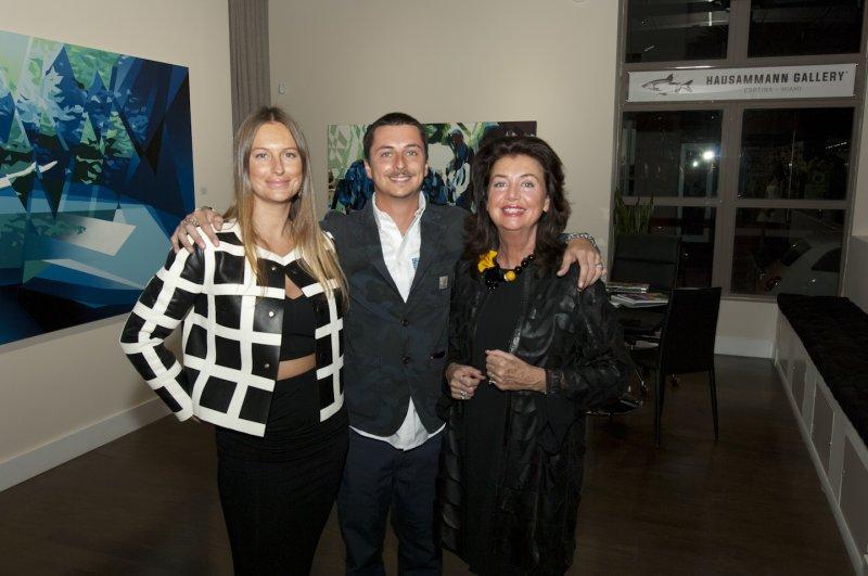 2  Beatrice  Federico  Gioia  Hausammann  Owners  Of  Hausammann  Gallery