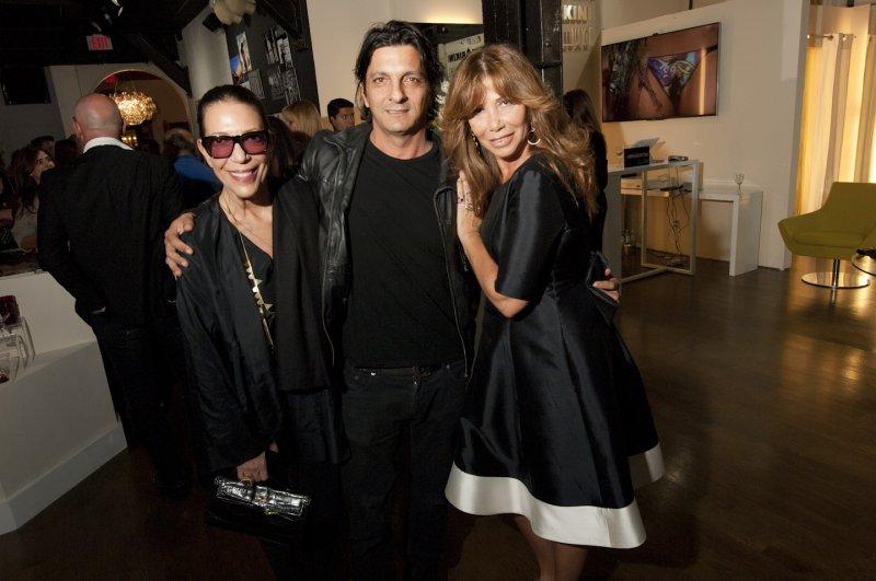 2  Designers  Sam  Robin  Francesco  Caracciolo  Di  Marano  With  Nadine  Borgomanero