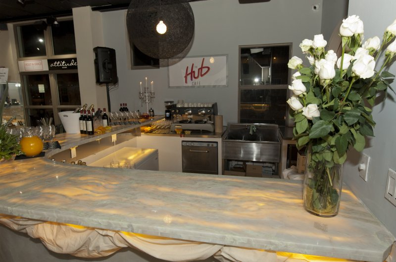 The  Hub  Stores  Cafe  Bar