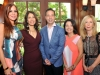 Alexis Calleja, Migna Sanchez-Llorens, Rob Bowlby BBBS Miami Chair Lydia Muniz, Bonnie Crabtree