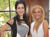 Luncheon co-chairs Hayley Sloman and Lesli Brown