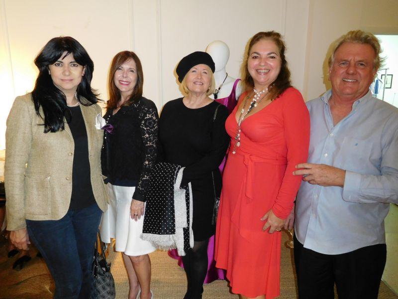 Julia Alba, Lourdes Tudela, Beverly Stover, Maria Zenoz, Terje Lundaas
