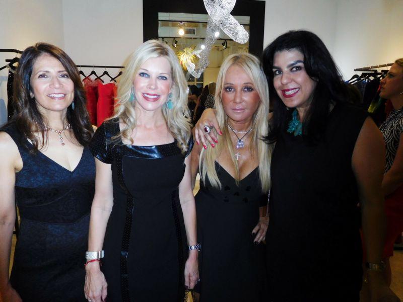 Migna Sanchez Llorens, Bronwyn Miller, Irene Korge, Patricia Fuller