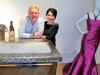 Designer Mayda Cisneros with husband Terje Lundaas