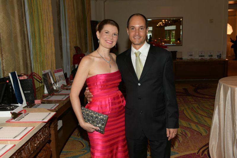 Andres Orjuela and Amanda Crider