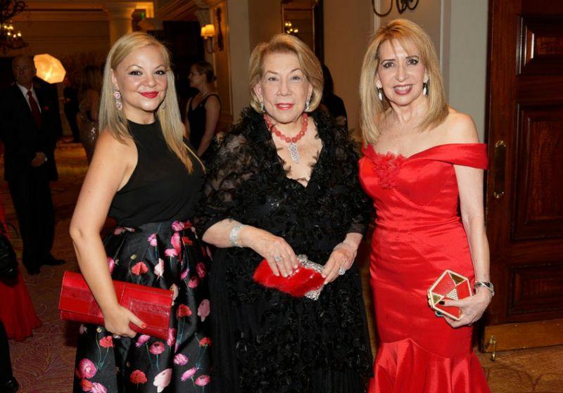 Jenny Starr Perez, Nora Bulnes, Dr. Eugenia Legorburu