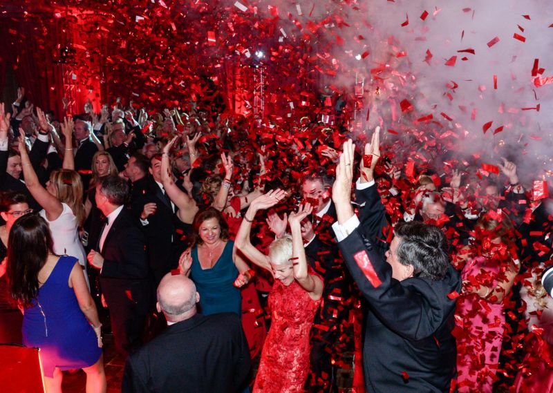 Fun at last year\'s Red Cross Ball 2015