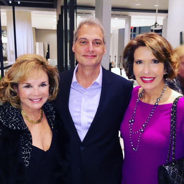 Swanee DiMare, Dr. Joel Hoffman and Daisy Olivera
