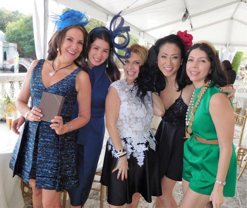 Linda Levy Goldberg, Yumi Yazawa, Ani Hernandez, Ann King, Ana Sofia Tarbay