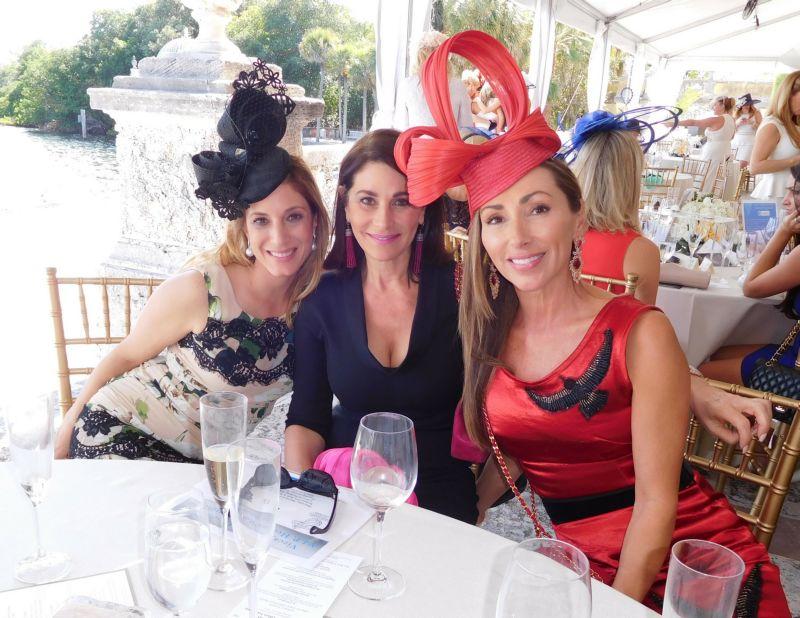 Marisa Toccin, Jennifer Valoppi, Carol Iacovelli