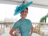 Dr. Krista Rosenberg in Alexis dress, Shapoh.com hat