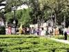 The beautiful gardens at Vizcaya