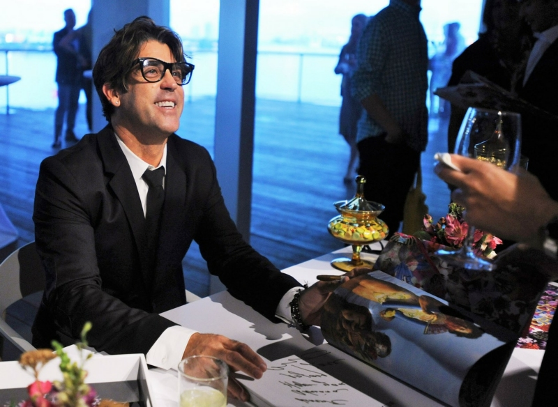 Carlos Betancourt at his book signing
