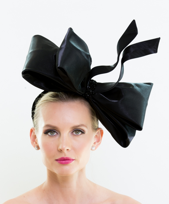 HAT 1 BLACK BOW